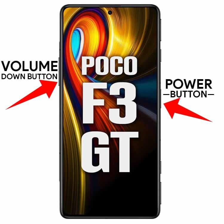 Take Screenshot In POCO F3 GT