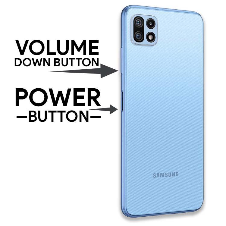 Take Screenshot on Samsung Galaxy F42 5G